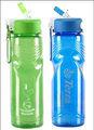libre de bpa botella de agua deporte botella de plástico