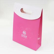 Pink gift paper bag