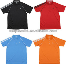 2013 latest selling plain custom high quality Super cooldry fit golf POLO shirt