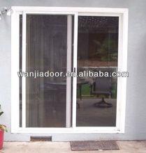 elegant design cheap pvc sliding window good quality Guangzhou Foshan wanjia door and window co.Ltd