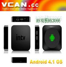 Google android 2.3 tv box cortex a9 Dual Core HDMI TV Box with TF Card Slot