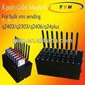 Melhor vendedor gsm sms 8 portas de modem, voz sobreip