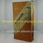 flat bottom kraft brown paper bag