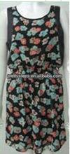 Pretty Steps 2013 women poly chiffon poly CDC clothing manufacture