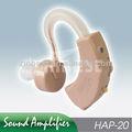 Atrás da orelha rígido do aparelho auditivo amplificador hap-20 enhancer
