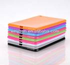 Solid Color Soft TPU case for ipad mini,Rubber TPU case for Table PC