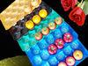 29*49 blue fruit liner tray for apple