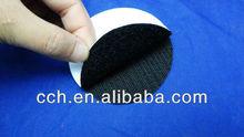 black self-adhesive velcro dots/ coins