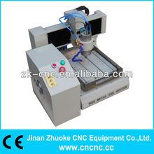 High precision 3D metal cnc router for aluminum ZK-3030(300*300mm)