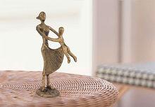bronze mother&son statue/custom made figurine/antique bronze statues
