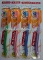 Dentales de alta calidad de la dentadura de silicona cepillo de dientes