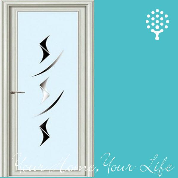 Puertas De Aluminio Blanco Para Baño:Marco de aluminio de la puerta de vidrio de aluminio puerta del baño
