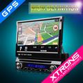 D714g: 7inç tek din araba dokunmatik ekran araba stereo radyo gps bluetooth fonksiyonu