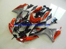 Motorcycle Fairing Kit For SUZUKI GSXR750 2006 2007 Orange And Black Fairing Kit