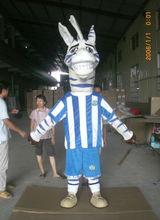 HI EN71 Funny Cartoon Zebra Mascot Costumes