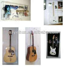 Manufacturing customized acrylic guitar display case