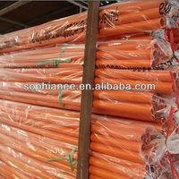 Wholesale Electrical Plastic PVC Orange Color Pipe