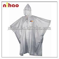 Cheap Clear Plastic Raincoat