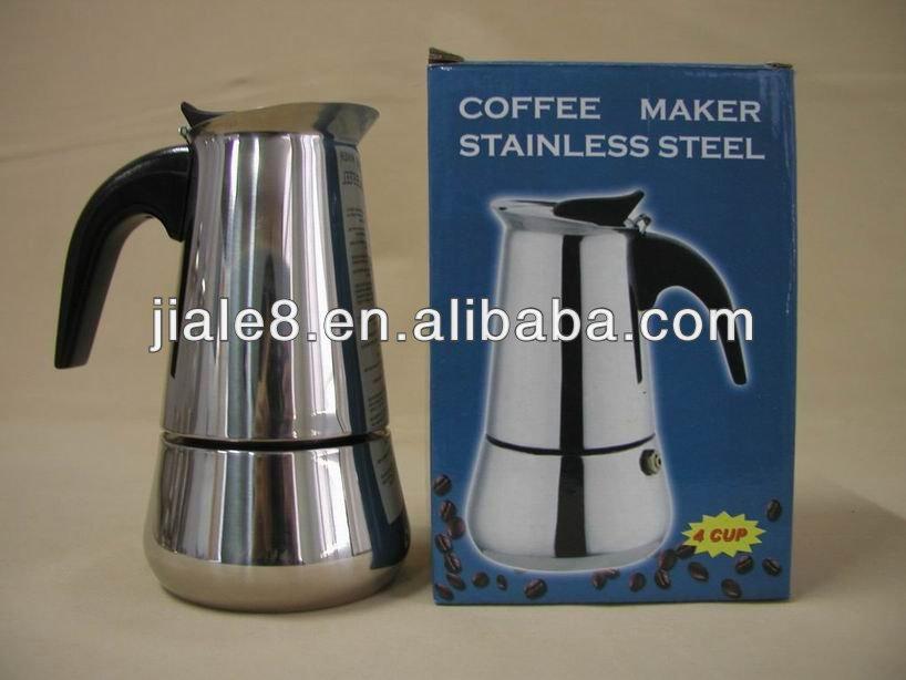 Moka Pot Stainless Steel Stainless Steel Moka Coffee Pot View Moka Coffee Pot Jiale Product Details