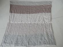 nuevo diseño de los hombres de algodón café mantón de pashmina