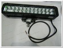 High power 72W cree led light bar,led waterproof bar light