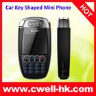 Audi A7 Mini size Car key shaped Mobile Phone