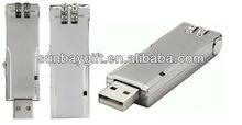 coded lock usb flash drive