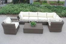 2013 Indian design sectional rattan sofa set