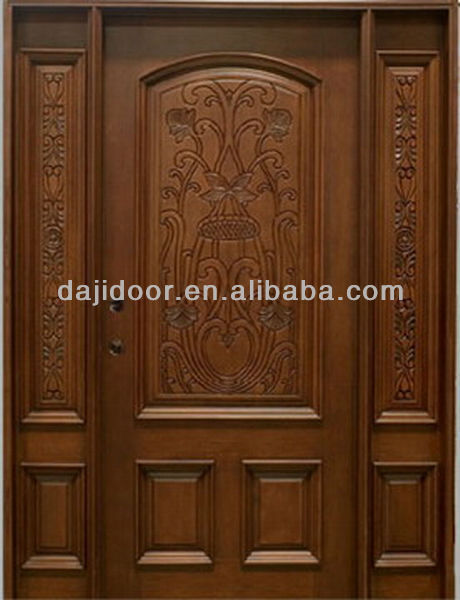 Luxury Main Doors Wood Carving Design DJ-S8717MST, View Main Doors ...