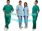 Disposable scrub suits green color
