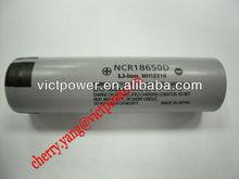 batteries cells rechargeable japan product panasonic li-ion rechargeable batteries panasonic 18650 NCR18650D 2700mAh 3.7V