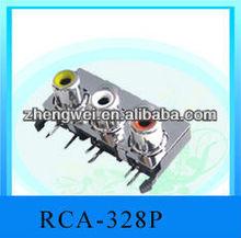 Audio connectors /Rca pin jack/Av pin jack