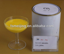 yellow acrylic paint for glass mosaic