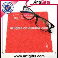 Custom print microfiber lens cleaning cloth