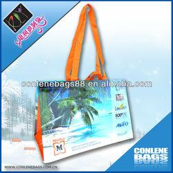Full Color Print RPET Laminated Shopping Bag (KLY-PET-0030)