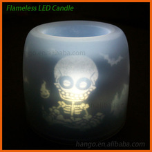 Sound Sensor Halloween LED Flashing Candle