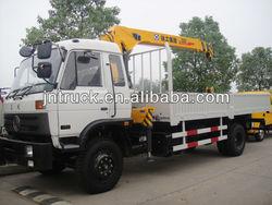 manufacture telescopic boom truck-mounted crane