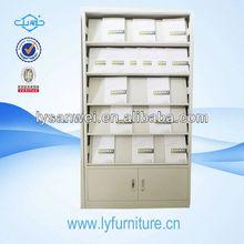 100% Low Price metal decorative bookcase