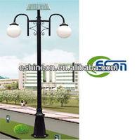 IP 65 outdoor energy saving induction lamps high lumen solar garden light