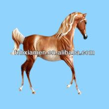 Antique horse resin model