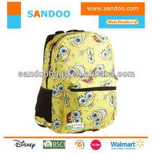 Girls 7-16 Allover Spongebob Print Backpack