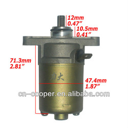 GY6 50cc Starter motor,scooter parts