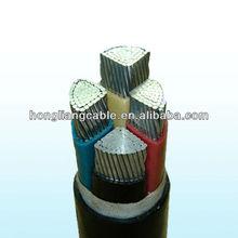 Factory standard power cable sizes Low voltage High voltage xlpe cable 4core 5core copper aluminum cable sizes