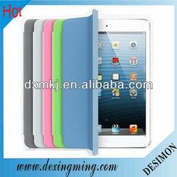 Smart cover for ipad mini leather case.for ipad mini case