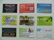 High quality soft pvc/paper ceramic fridge magnet