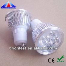 240V GU10 LED 4W 3200K warm white