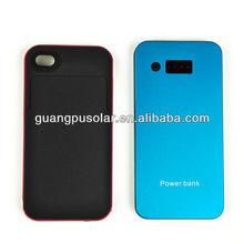 hot sale 6000mAh high capacity fashionable mini external power bank for digital products