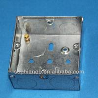 3x3 Deep 35mm BS Standard Metal Junction Box Sizes