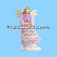 Miniature angel figurine