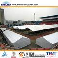 feira de exposições da barraca pvc tampa moldura de alumínio